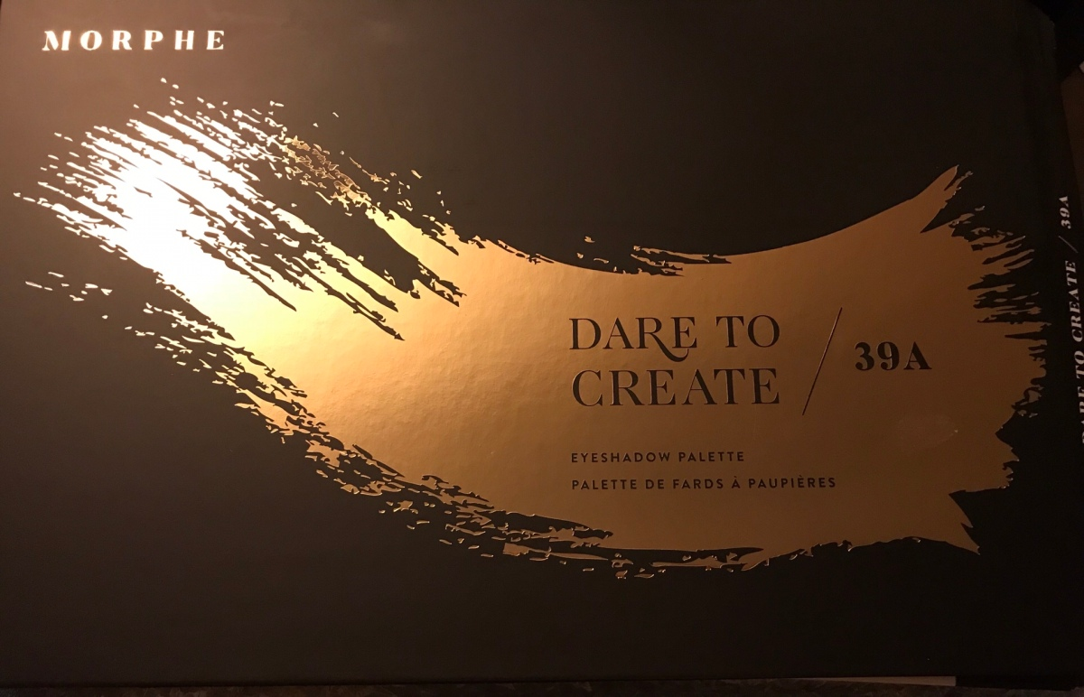 Morphe #39A Dare to Create palettereview